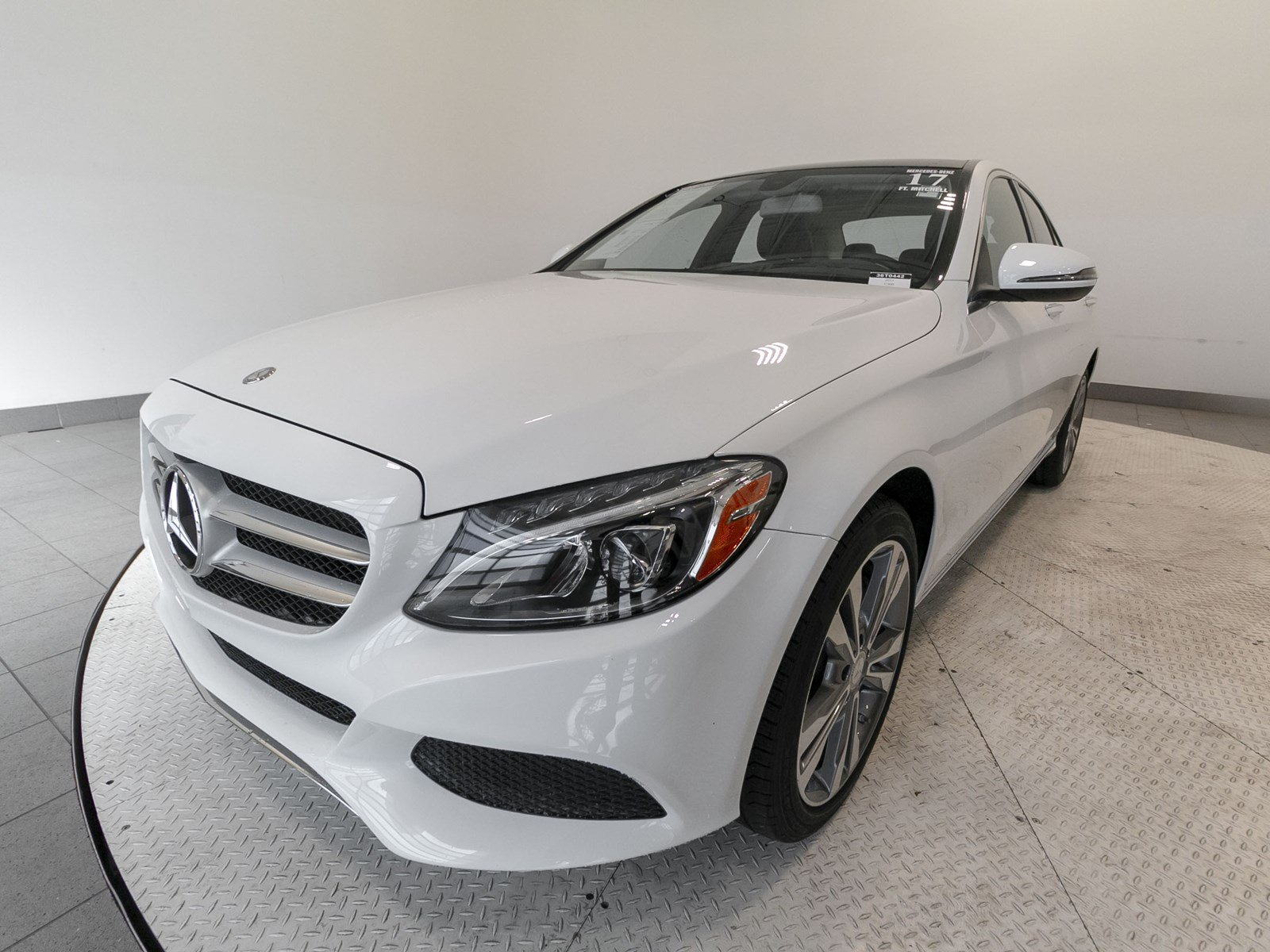 Certified Pre Owned 2017 Mercedes Benz C Class C 300 4dr Car in Fort