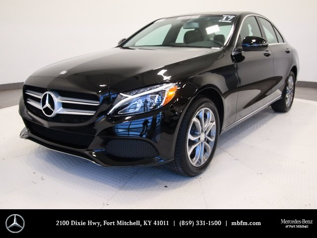 Certified Pre-Owned 2017 Mercedes-Benz C-Class C 300 Sport Sedan AWD 4MATIC®