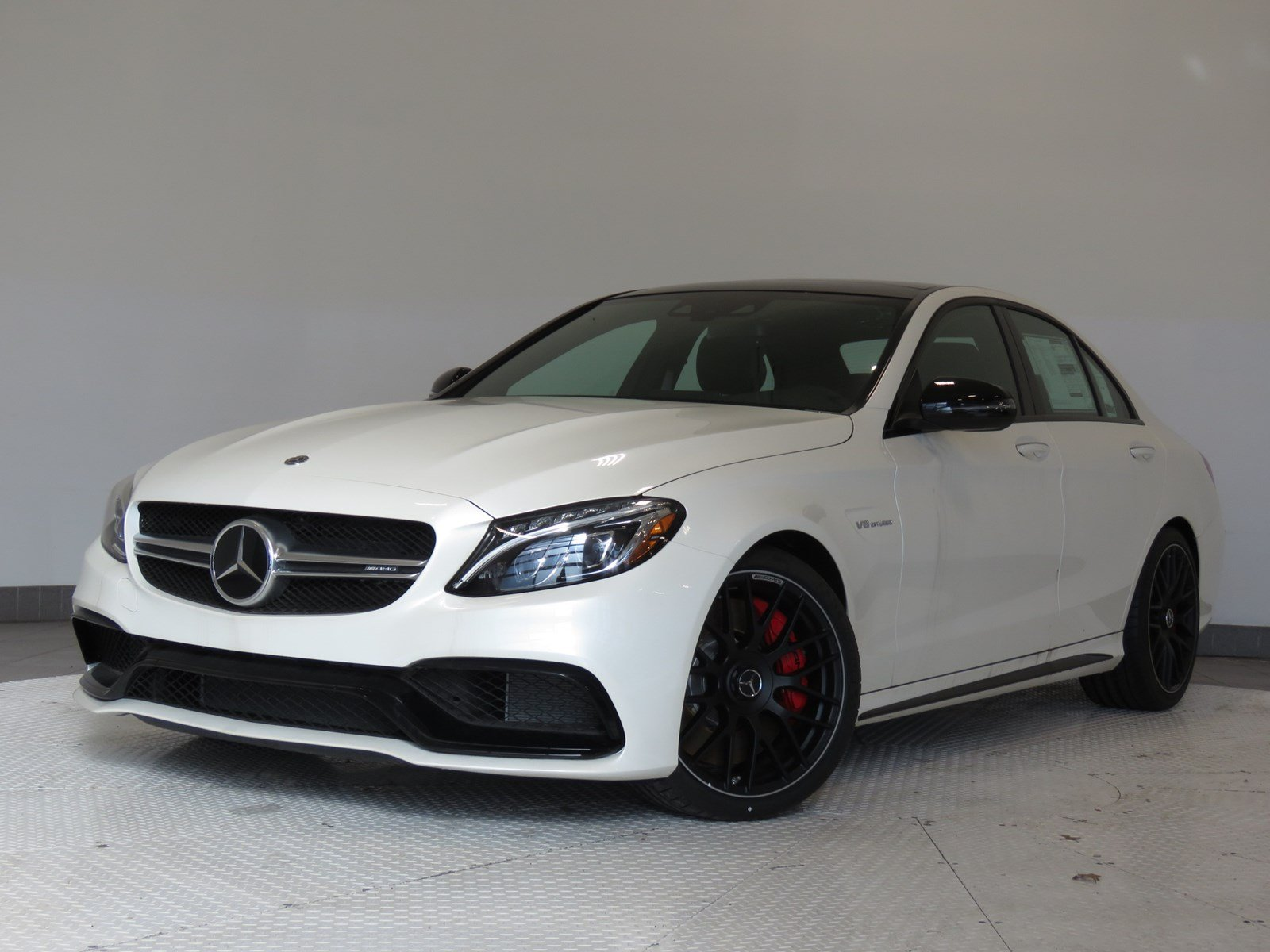 New 2018 Mercedes Benz C Class AMG C 63 S Sedan SEDAN in Fort