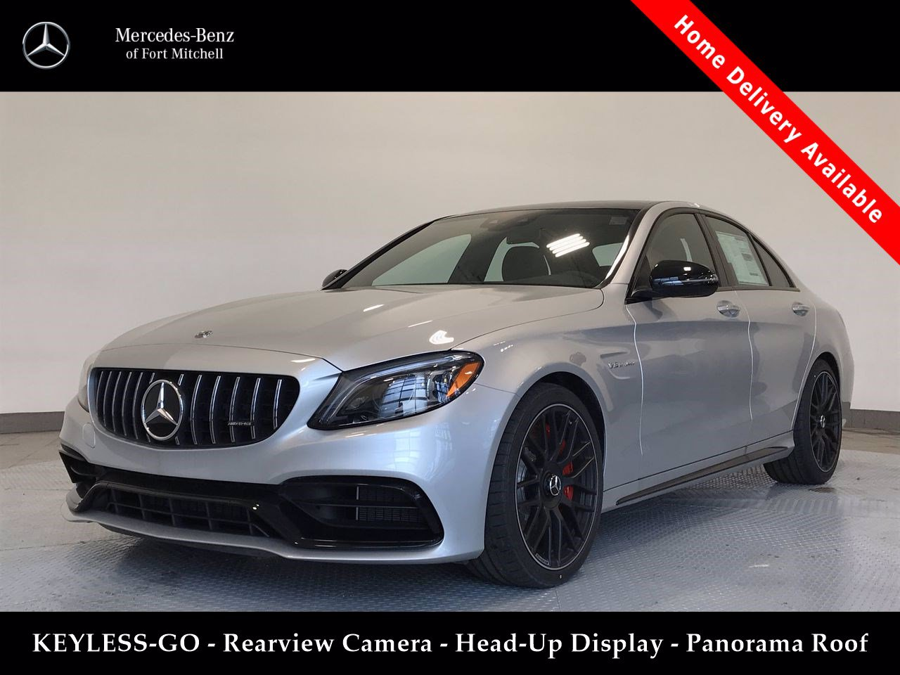 Certified Pre-Owned 2019 Mercedes-Benz C-Class AMG® C 63 S