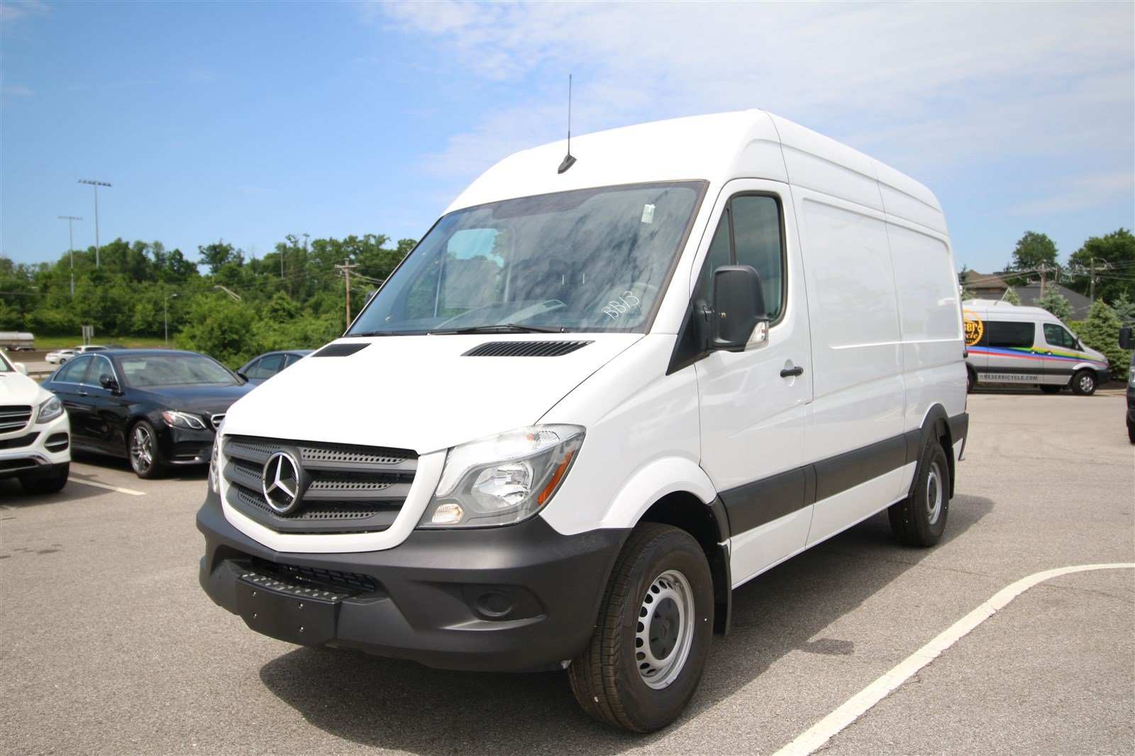 New 2017 Mercedes Benz Sprinter 2500 Cargo Van