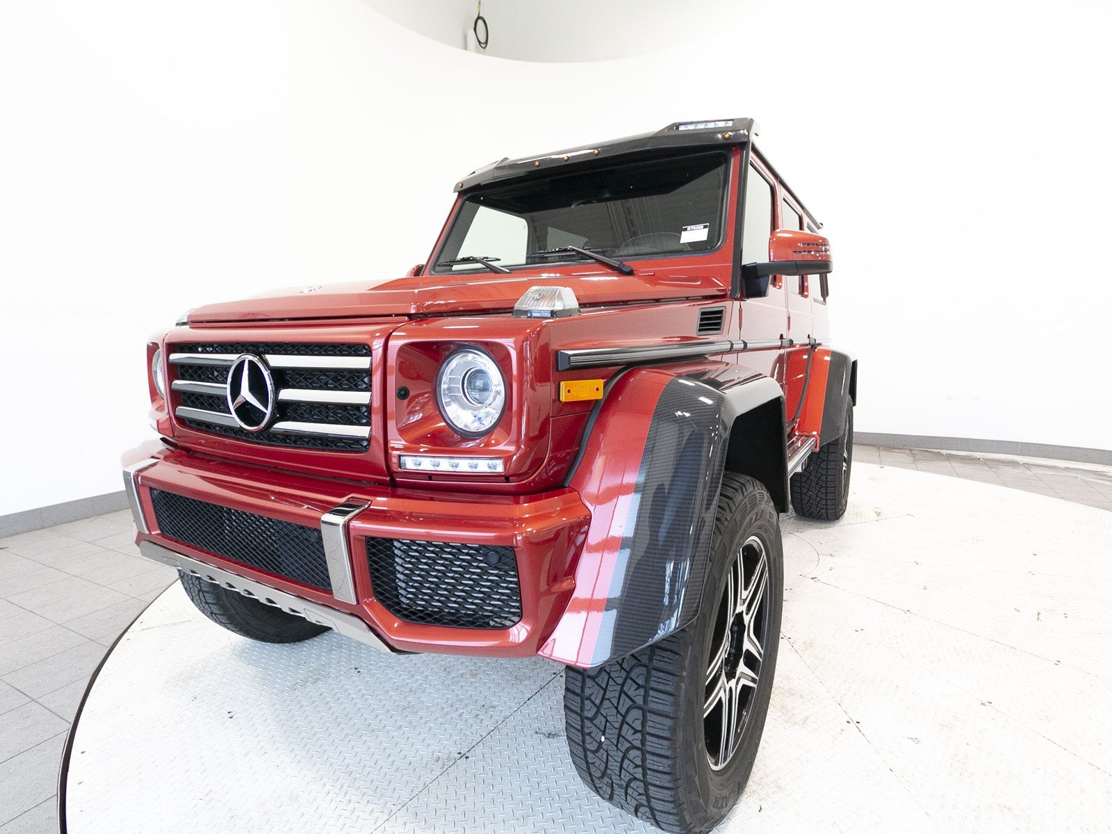 Certified Pre Owned 2017 Mercedes Benz G Class G 550 4x4 Squared