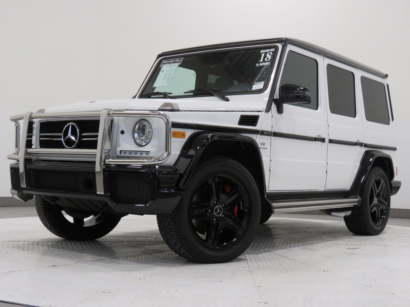Certified Pre-Owned 2018 Mercedes-Benz G-Class AMG® G 63 SUV