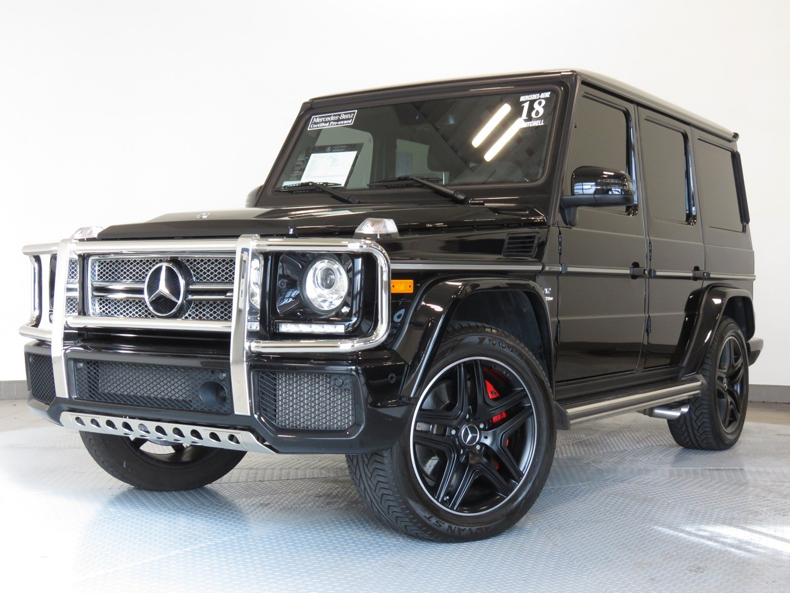 Certified Pre Owned 2018 Mercedes Benz G Class Amg G 65 Suv Suv In