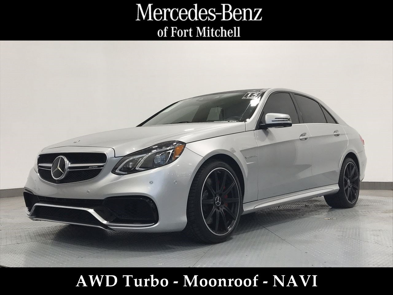Certified Pre-Owned 2015 Mercedes-Benz E-Class E 63 AMG® S-Model