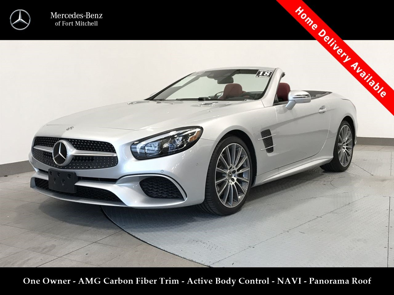 Pre-Owned 2018 Mercedes-Benz SL SL 550
