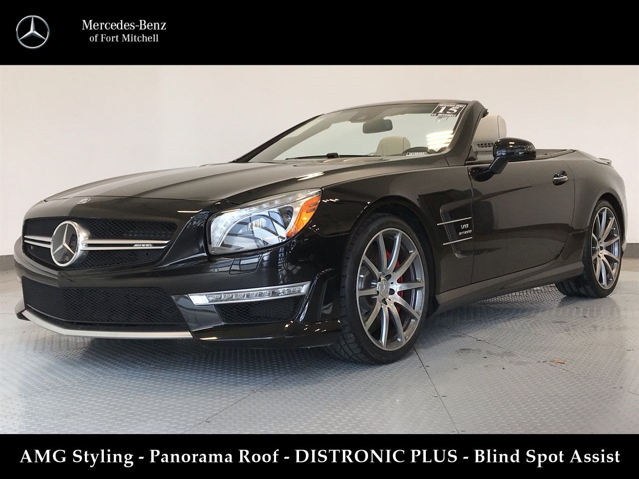 Certified Pre-Owned 2015 Mercedes-Benz SL SL 63 AMG®