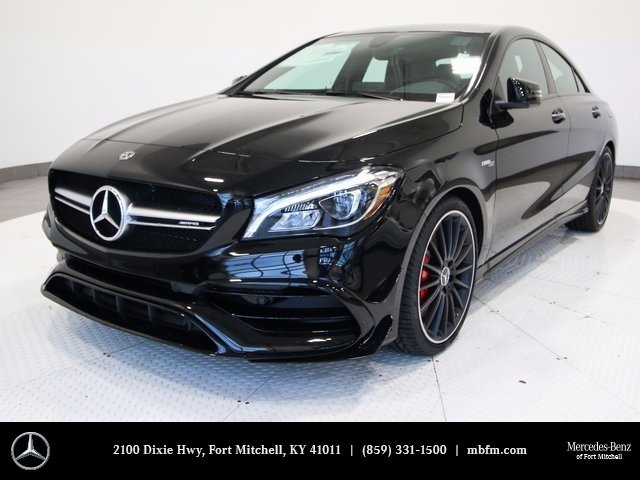 New 2018 mercedes benz cla amg cla 45 coupe coupe in fort for New mercedes benz cla