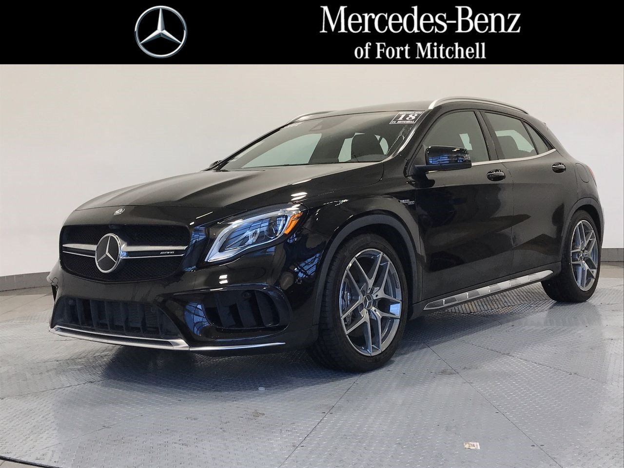Certified Pre-Owned 2018 Mercedes-Benz GLA AMG® GLA 45