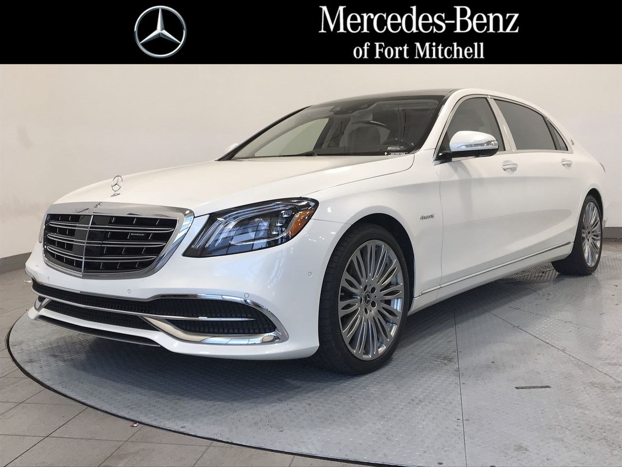 Certified Pre-Owned 2018 Mercedes-Benz S-Class Maybach S 560