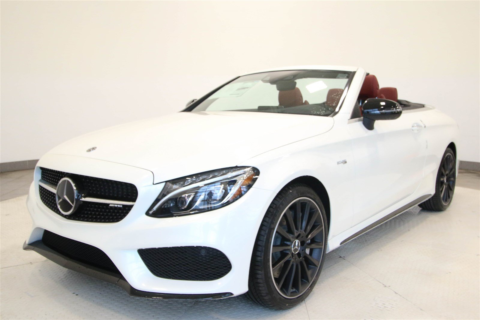 New 2018 Mercedes Benz C Class AMG C 43 Cabriolet CABRIOLET in Fort