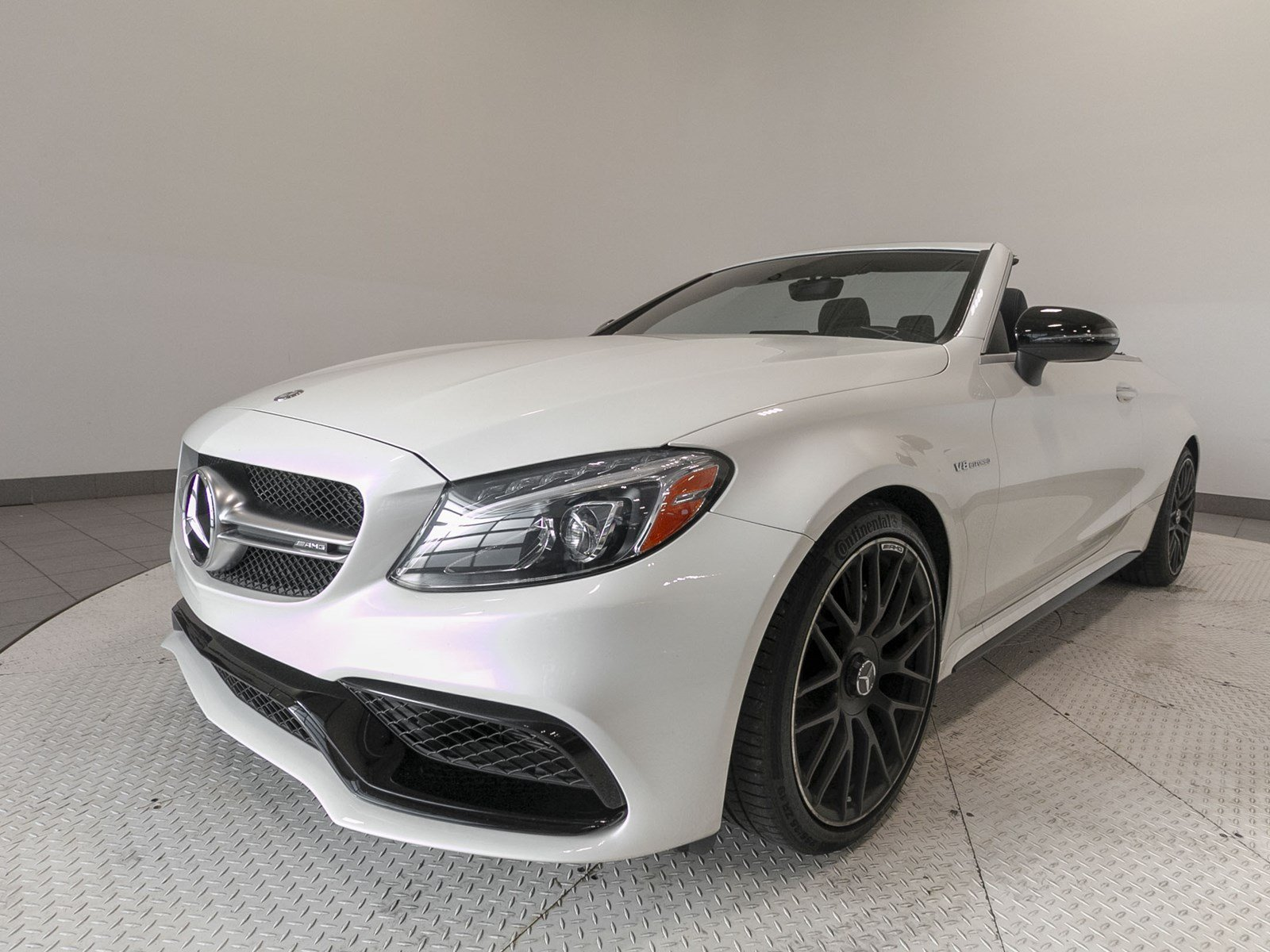 Certified Pre Owned 2017 Mercedes Benz C Class AMG C 63 Cabriolet