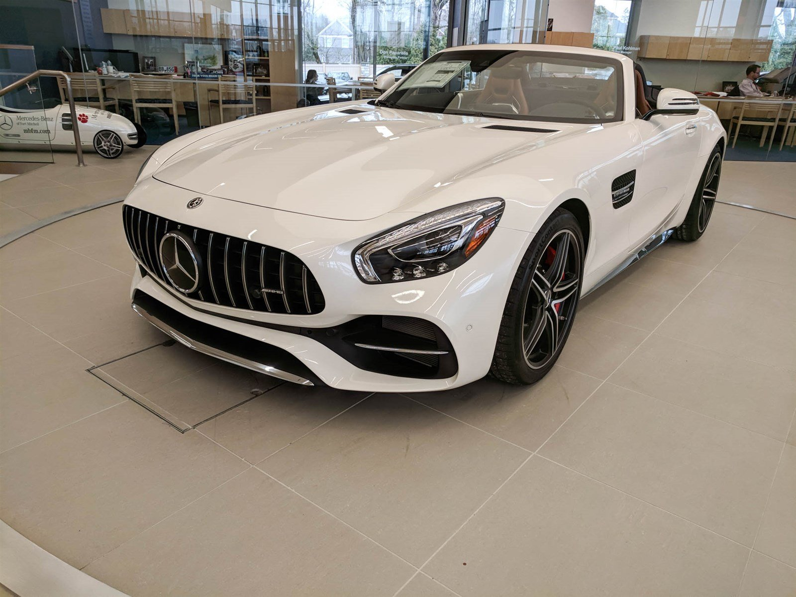 new 2018 mercedes benz gt amg gt c roadster roadster in fort mitchell r1358 mercedes benz of. Black Bedroom Furniture Sets. Home Design Ideas