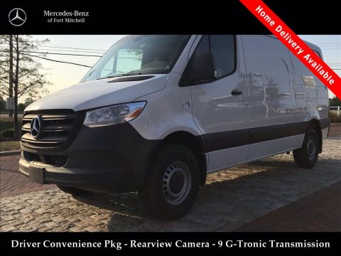 New 2019 Mercedes-Benz Sprinter Cargo Van 144 in. WB