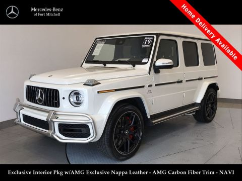 Certified Pre-Owned 2019 Mercedes-Benz G-Class AMG® G 63
