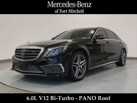 Certified Pre-Owned 2015 Mercedes-Benz S-Class S 65 AMG®